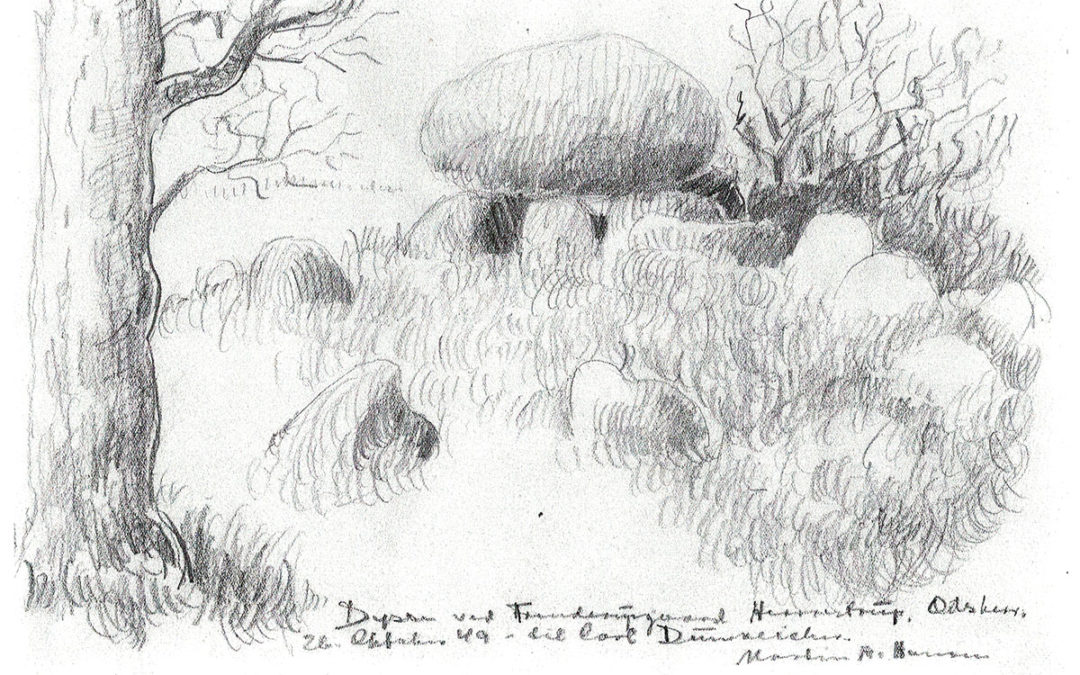 192: Tegning Frenderupgaard-dyssen