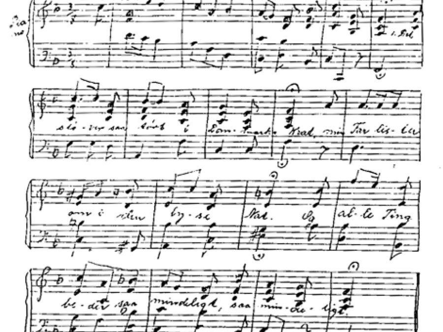 193: Høstsang m/melodi